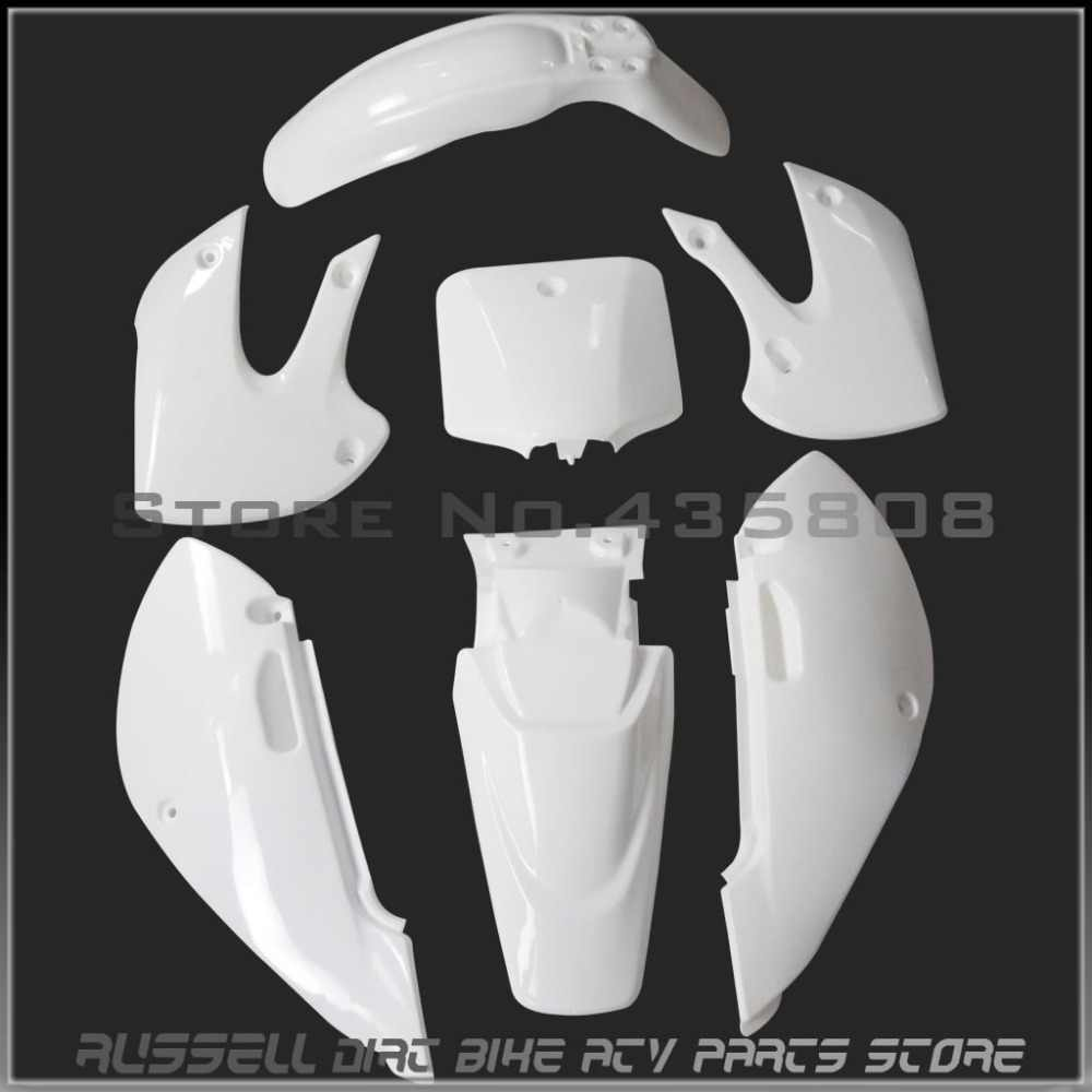 Detail Feedback Questions about KLX110 plastic Fenders
