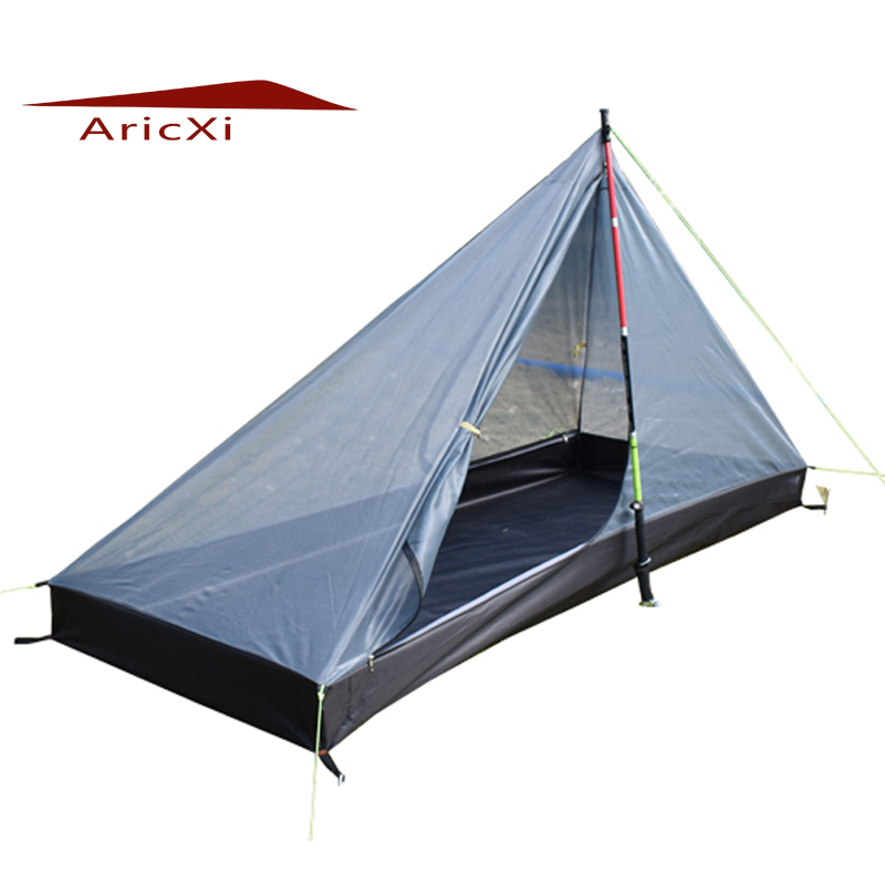 ARICXI T portes conception strut coin Ultra-léger 4 saisons maille tente camping en plein air tente intérieure pyramide intérieure tente