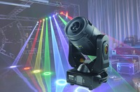 2W/4W RGB 40K Moving Head Laser light for Disco Event Cartoon Laser Home Wedding Club Effect Show DJ Disco Party Projector