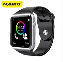 Naiku Bluetooth Смарт часы наручные часы Спорт шагомер с SIM камеры SmartWatch для Android-смартфон PK GT08 U8 M26