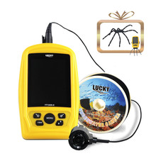 LUCKY Portable Underwater Fishing & Inspection Camera System CMD sensor 3.5 inch TFT RGB Monitor Fish Sea 20M Cable FF3308-8