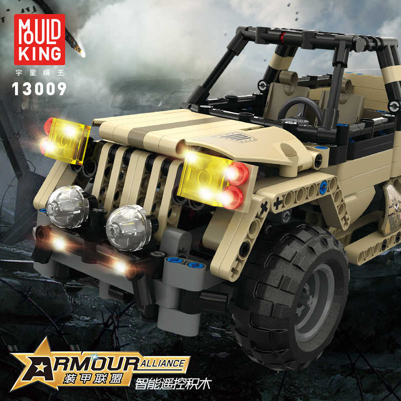 2019 Juguetes Mould King Technic 13009 Armour Alliance Rc Blocks Military  Series Armed Building Remote Control Truck Brick Tank