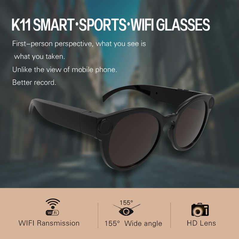 Thông minh Kính Camera Wifi dành cho IOS Android Full HD 1080 P, Mini Di Động Thể Thao Máy Ảnh, micro Ghi Máy Quay Phim