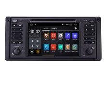 В наличии 7 «HD ips Android 8,1 dvd-плеер автомобиля для BMW E39 5 серии 97-07 Range Rover 02-05 Wi-Fi Bluetooth руль Управление