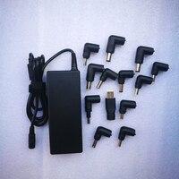 Universal AC Power Adapter Alimentação Carregador Portátil 90 W 15 V 6A 16 V 5.6A 18.5 V 4.9A 19 V 4.74A 19.5 V 4.62A 20 V 4.5A 13 DC conectores
