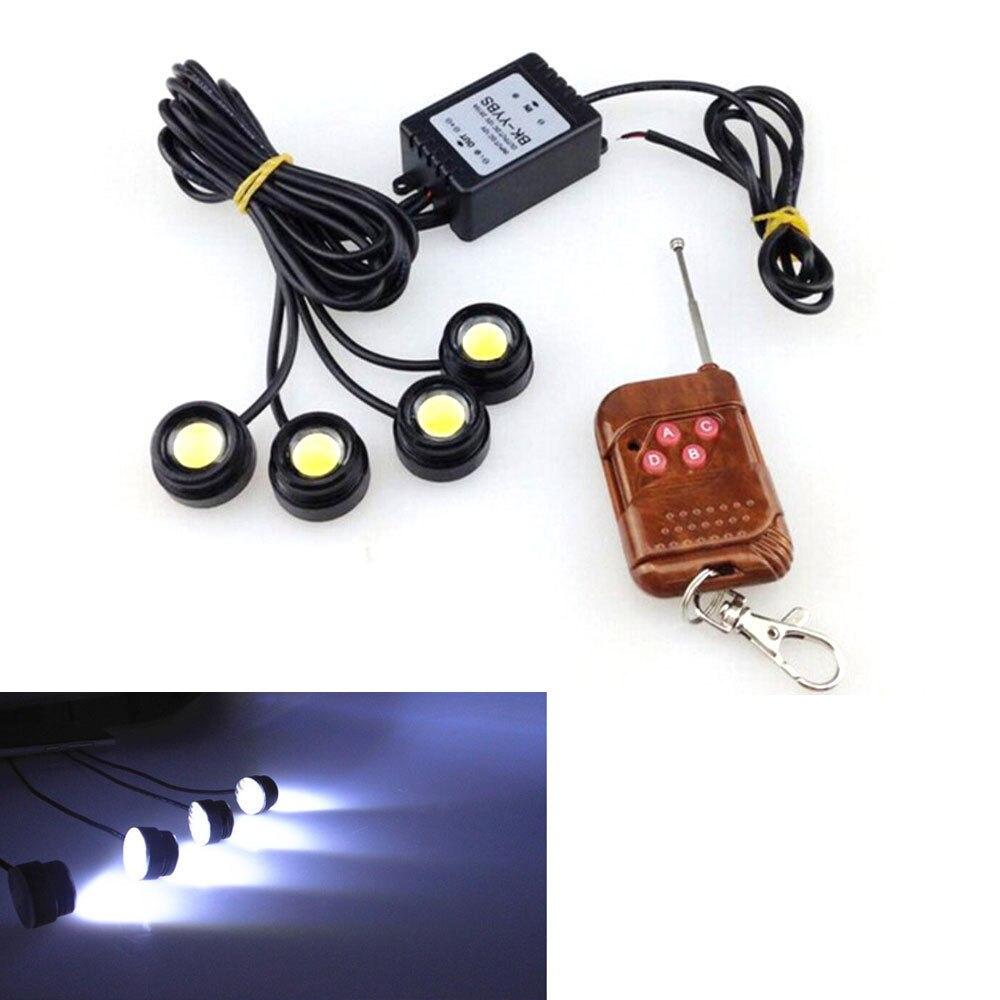 Car 12W SMD LED Hazard Emergency Warning Traffic Advisor Strobe Flash Light Kit for Universal Car