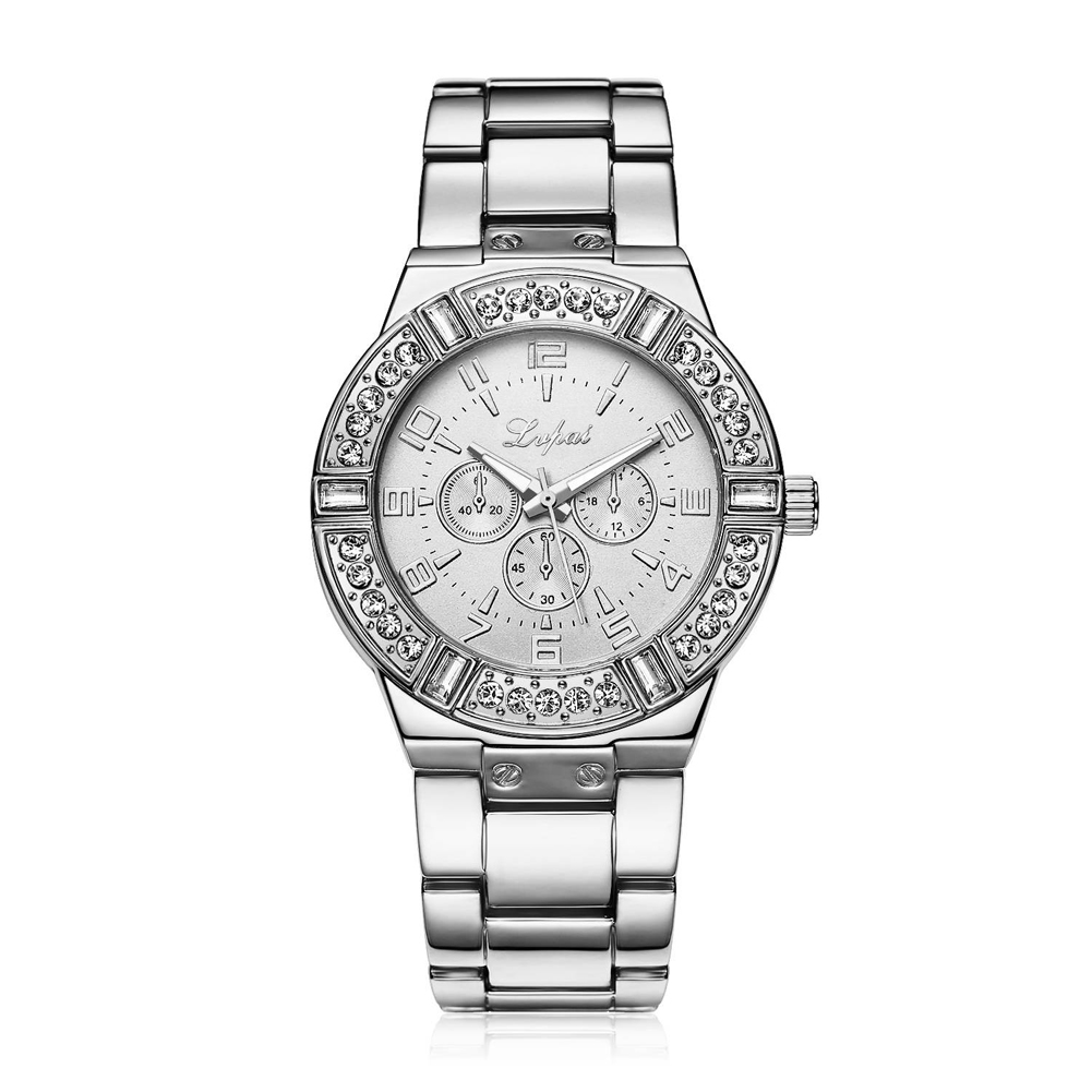 Luxury LVPAI Watch Women Dress Watches Steel Quartz Watch ...