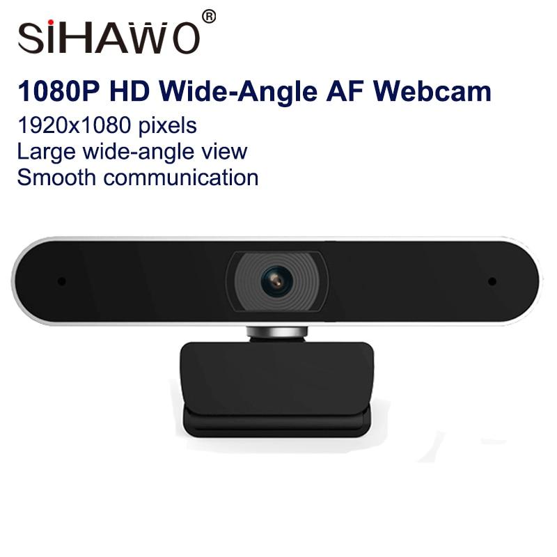 HD1080P AF Webcam caméra Autofocus grand Angle 1920x1080 Pixels conférence d'éducation en ligne/enseignement de la reconnaissance faciale de la caméra en direct