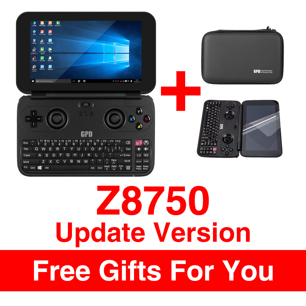 GPD WIN Gamepad Laptop NoteBook Tablet PC 5.5 Handheld Game Console Video Game Player x7-Z8750 Windows Bluetooth 4.1 4GB/64GB