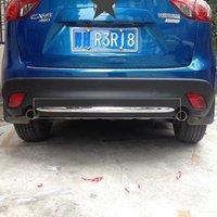 For 2015 2016 Mazda CX 5 CX 5 CX5 Rear Bumper Protector Sill Strip Cargo Bottom