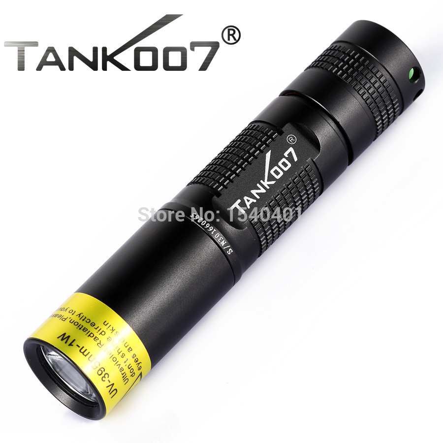 Free Shipping TK566 HAIII 395nm 3W detection UV japan flashlights torches ultraviolet tank007 led black lights for fishing