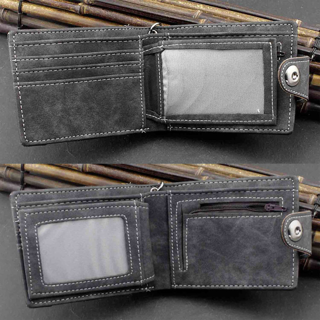 Biker Snap Wallet w/ Chain 2