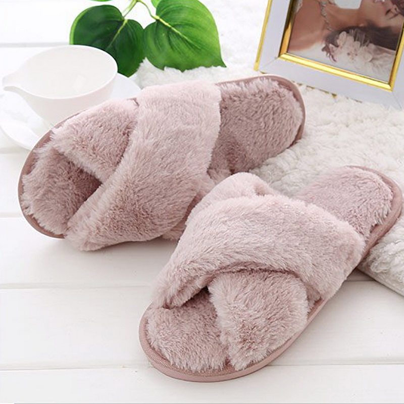 Shujin Zapatillas de Estar por casa de Algod/ón para Mujer