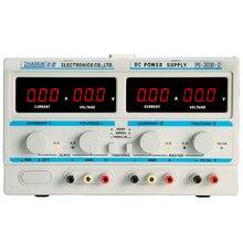 PS-303D-2 Двойной источник питания ПОСТОЯННОГО ТОКА 30 В 3a Цифровой Лаборатории Питания