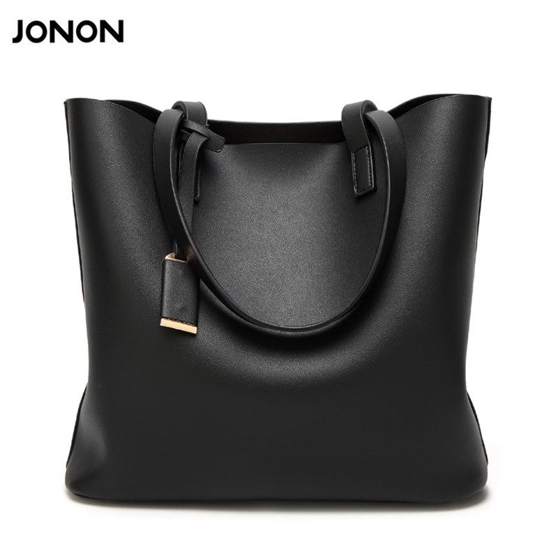 Jonon 2017New Famous Brand Shoulder Bag Large Fashion Women Bag Ladies Hand Bags Luxury Designer Handbags Women Messenger Bags