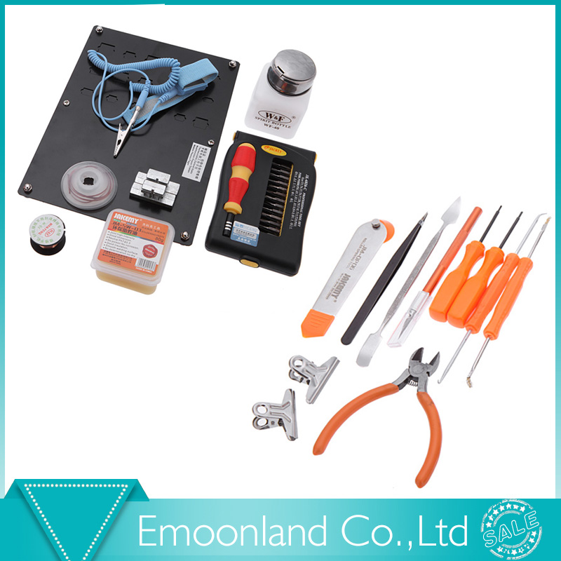 ФОТО 49 in 1 Soldering Welding Tools Screwdriver kit platform Electronic Repairing Tool kit Screw driver Type JM-1101