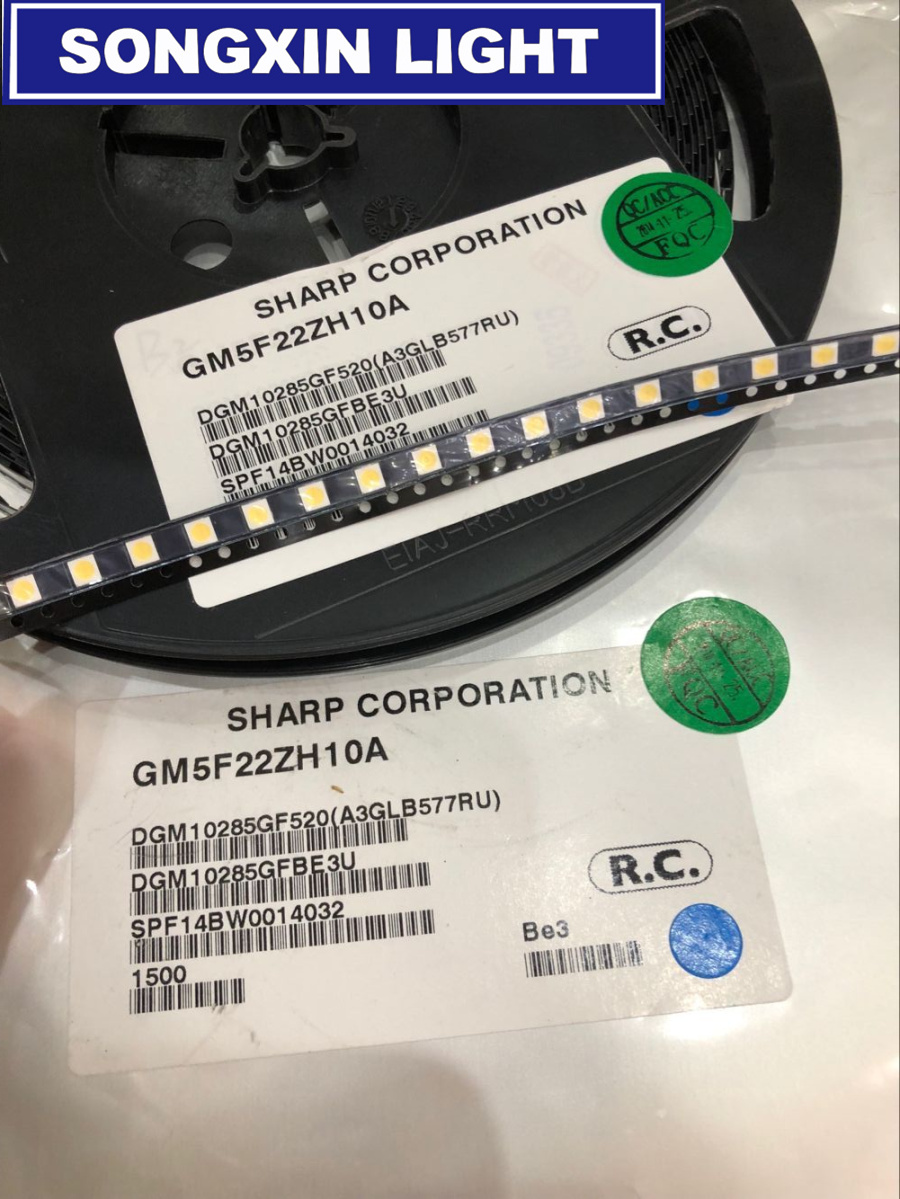 Active Components 1000pcs For Sharp Led Tv Application Lcd Backlight For Tv Led Backlight 1w 3v 3535 3537 Cool White Gm5f22zh10a Back To Search Resultselectronic Components & Supplies