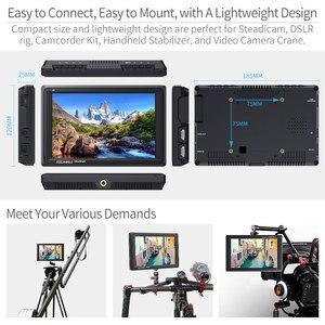 Image 4 - Feel world FW279 شاشة 7 بوصة فائقة السطوع 2200nit على مجال الكاميرا DSLR شاشة كاملة HD 1920x1200 4K مدخل HDMI الناتج سطوع عالية