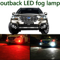 for outback 2010-2015  accessories H11 LED Car Fog Driving Light Lamp Bulb High brightness
