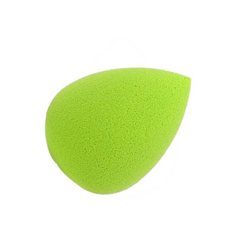 ISHOWTIENDA 2 PC מים טיפות רך יופי איפור ספוג פאף קוסמטי פאף esponja maquiagem יופי ירוק איפור ספוג