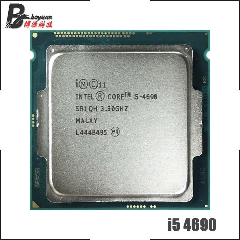 Intel Core i5 4690 i5 4690 3 5 GHz Quad Core CPU Processor 6M 84W LGA