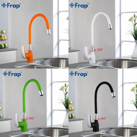 Frap New Arrival Silica Gel Nose Any Direction Kitchen Faucet Cold And Hot Water Mixer Torneira