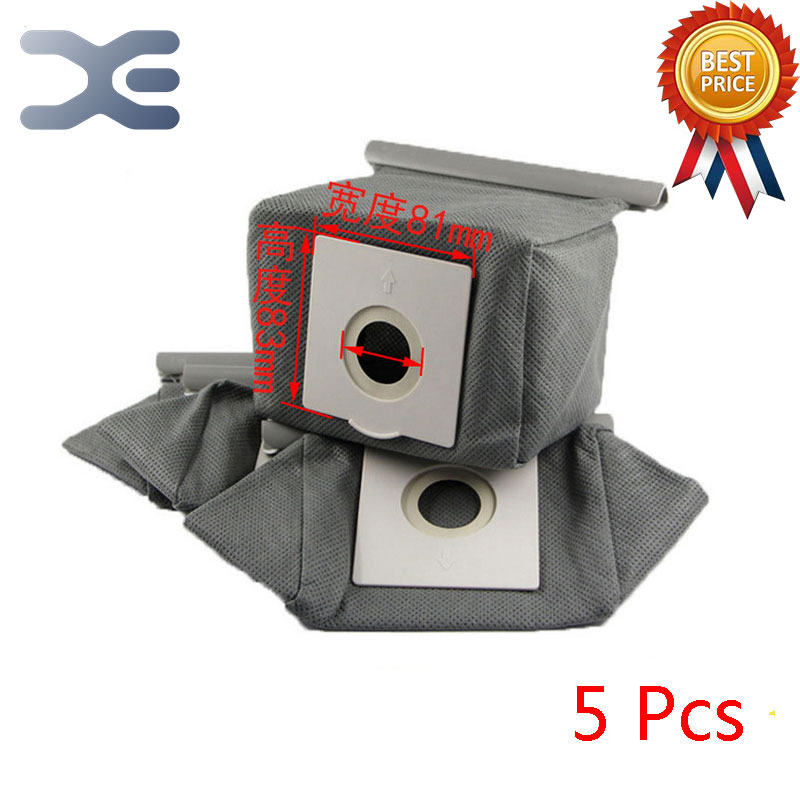 5Pcs High Quality Fitting For Philips Vacuum Cleaner Accessories Non - woven Bag Garbage Bag Dust Bag FC8088 FC8089 2pcs high quality fitting for philips vacuum cleaner accessories dust bag non woven bag garbage bag hr8376 8378