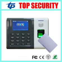 Fingerprint and RFID card time attendance biometric time recording optical fingerprint reader zk finger10.0 time clock system