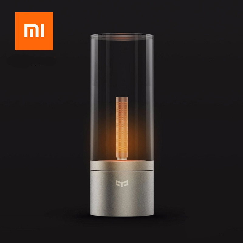 Original xiaomi YEELIGHT mijia Candela Smart Control led night light,Atmosphere light for Mi home app ,Xiaomi smart home kits xiaomi yeelight led ceiling pro 650mm rgb 50w work to mi home app and google home and for amazon echo for xiaomi smart home kits