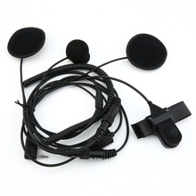Full Face Moto Motorcycle Bike Helmet Earpiece Headset Mic Microphone For Kenwood Two Way Radio TK3173/TK3200 BAOFENG UV-5R 2 pin helmet motorcycle race headset headphone earpiece for kenwood baofeng uv 5r gt 3 gt 3tp ham walkie talkie two way radio
