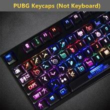Siancs DIY PUBG keycaps подсветка PLAYERUNKNOWN BATTLEGROUNDS Механическая стандартная клавиатура 104 ключей издание ключ Кепка для вишни