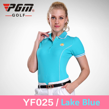 2017 New Womens Golf Polo Shirts Short Sleeve Summer Polyester Golf Shirts for Women Quick Dry