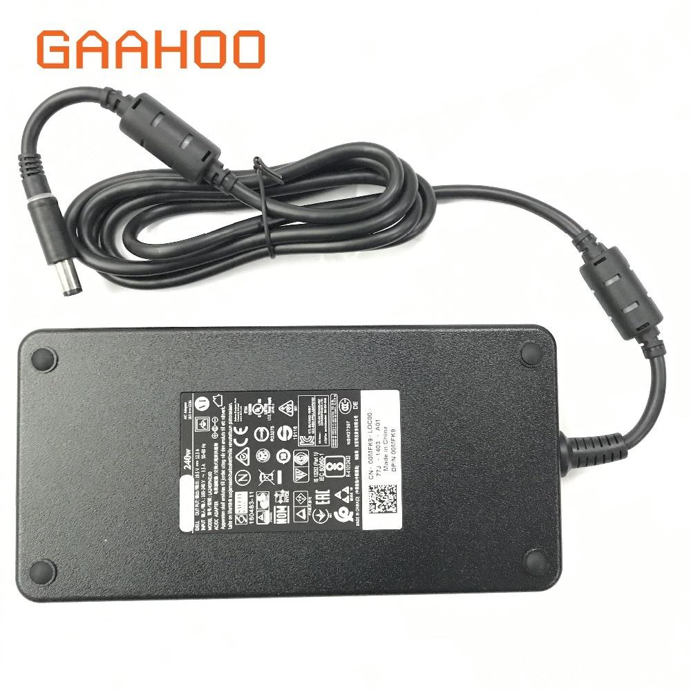 NEW Genuine For DELL 240W 19.5V 12.3A PRECISION 17 M7720 Slim AC Power Adapter