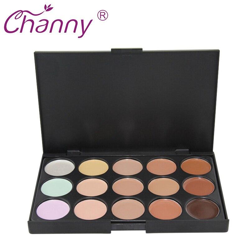 Rejtegető paletta 15 szín divat smink krém alap paletták matt arc - Smink