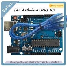 FREE SHIPPING MEGA328P For Arduino UNO R3 development board,  Atmega16U2 Board Module , ATMEGA328P PU  I/O ISP 3.3V 5V