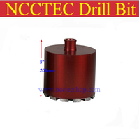 Short Crown Wet Diamond Drilling Bits Concrete Wall Wet Core Bits Professional Engineering Core Drill Tools