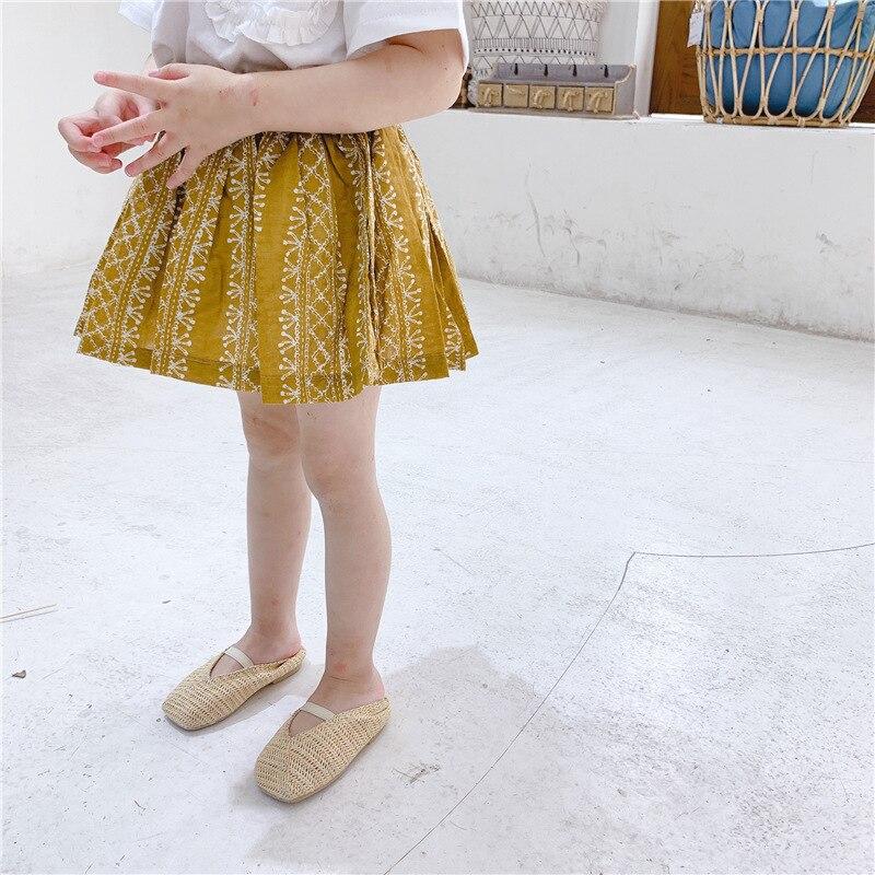 1-5 Jahre Baby Mädchen Sommer Floral Print Tutu Röcke Kinder Kleinkind Kinder Kleidung Schrecklicher Wert
