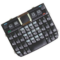 Black New Original Housing Home Function Main Keypads Keyboards Buttons Cover Case For Nokia E71 Free