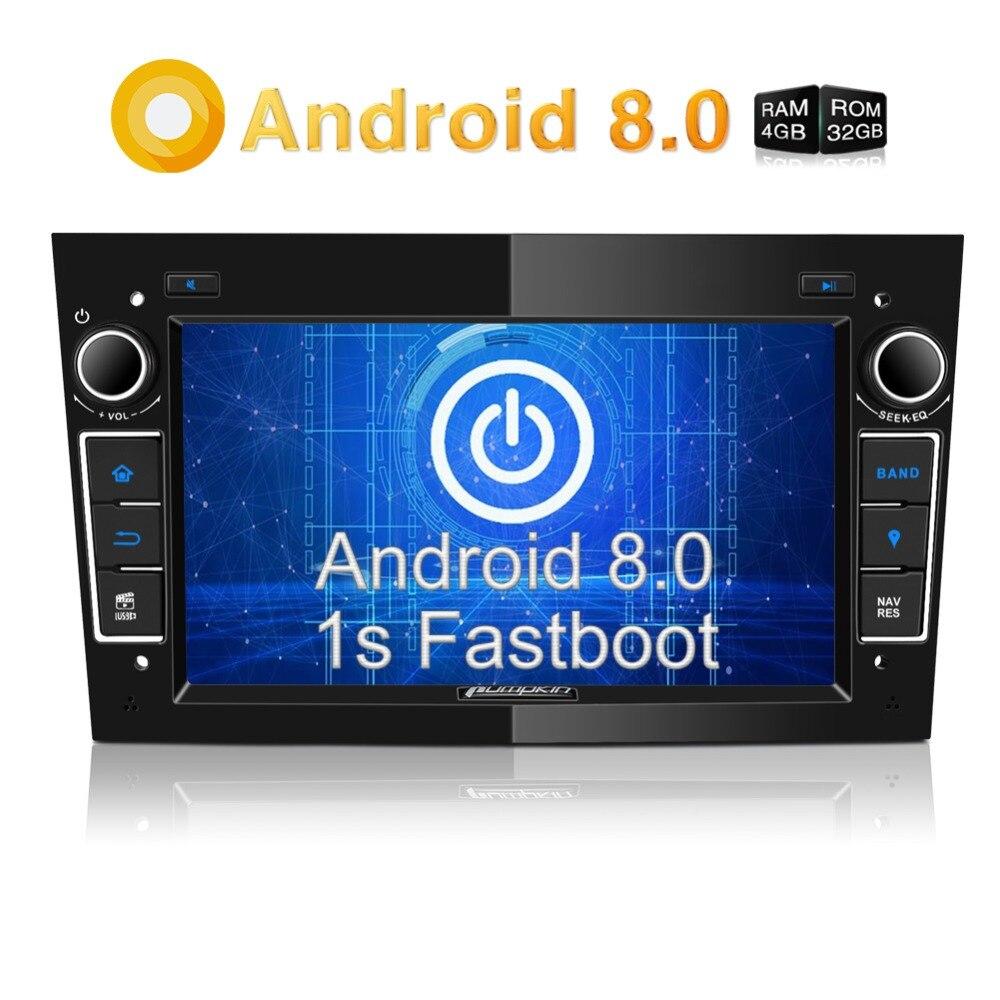 Pumpkin2 Din7 Android 8 0 Car Radio No DVD Player GPS Navigation 4GB RAM Wifi Octa