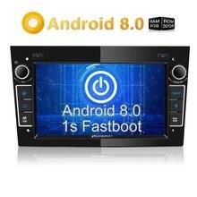 Pumpkin2 Din7»Android 8,0 автомобильный Радио без DVD плеер gps навигация 4 Гб ОЗУ Wifi Восьмиядерный автомобильный стерео аудио для Opel/Vectra/Astra