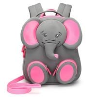 Kids Cute Elephant Plush kindergarten Waterproof Anti lost bag Boys Cartoon Children Backpacks for Girls Animal Bear Cat Bags