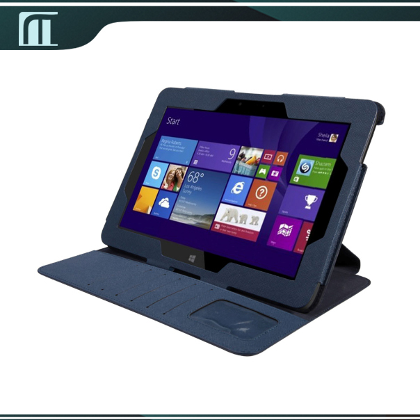 Omni 10 Luxury Stand Flip PU Leather case For 10.1 inch HP Omni 10 Tablet Pouch Wholesale Price Hot Sale New with free shipping