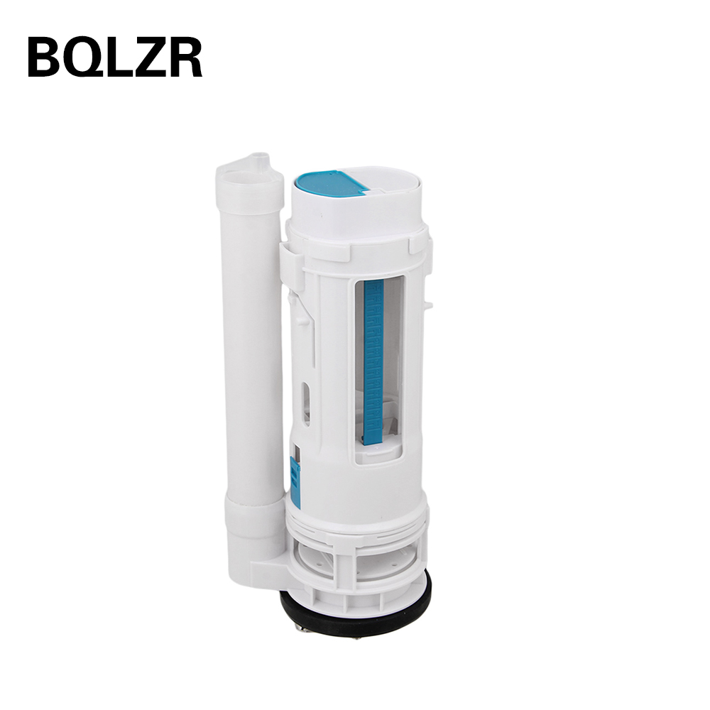 BQLZR Toilet Cistern Dual Flush Push Button Valve 25cm Height Water Saving Type public restroom 7 8pt dia male thread press type toilet flush valve adapter zmm