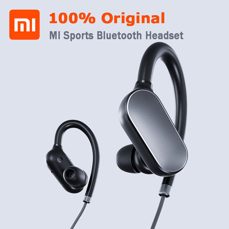 XIAOMI  Original MI Sports Bluetooth Headset Music Sport Earbud IPX4 Waterproof and sweatproof earphones Handsfree mi 313 migix movement music купить дешево в китае