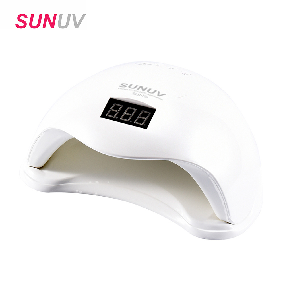 48W UV led Lamp Nail Dryer SUN5 UV Lamp Professional Nail lamp Beauty Makeup Cosmetic Polish Machine for Curing Nail Art Tools mdskl 48w led uv lamp nail dryer self clocking a minute of rapid drying golden electric nail art tools exemption from postage