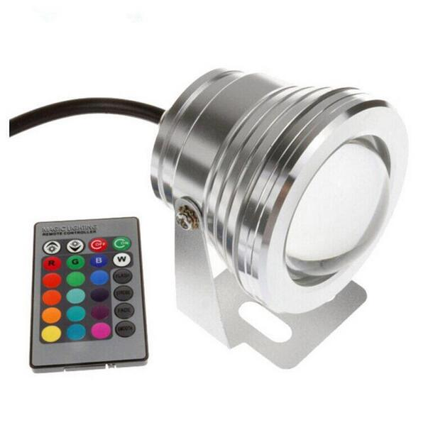 underwater RGB Led Light 10W RGB for swimming pool pond piscina aquarium fountain water lighting onder water 12V IP67 - 5