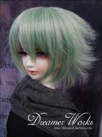 1/3 scale BJD  doll wig short hair for DIY BJD/SD accessory.Not included doll,clothes,shoes,and other accessories  17C3283