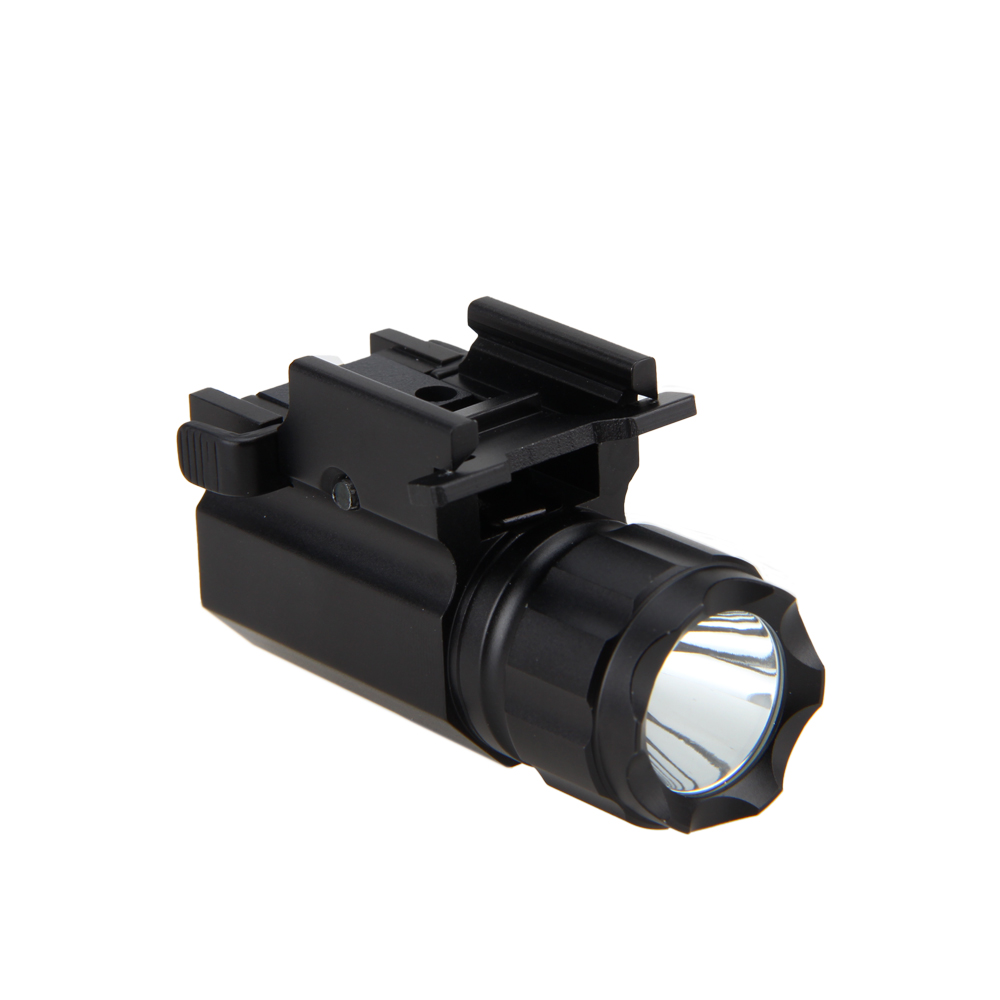 Waterproof Tactical 2000Lm R5 LED Military Rifle Flashlight Rail Mount Hunting Torch Light