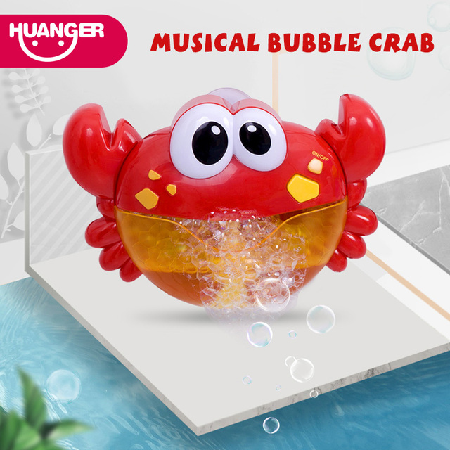 Musical Bubble Frog/Crab foam blower