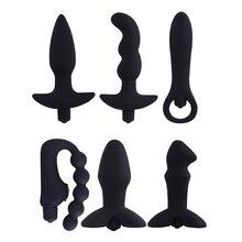 Waterproof 10 Speeds Prostate Massager Silicone Female Vibrator Masterbator Anal Butt Plug G-Spot Dildo Gay Sex Toy for Men